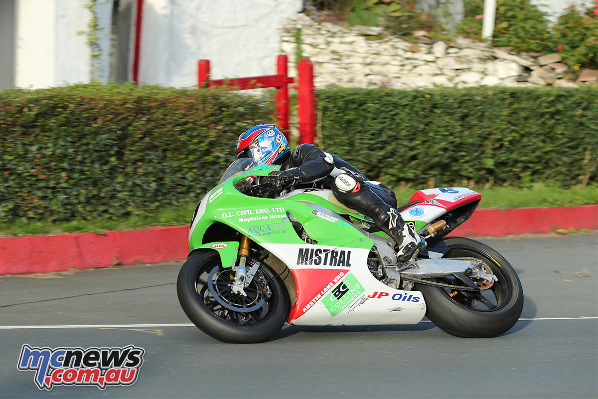 IoM Classic TT Preview Mistral Racing