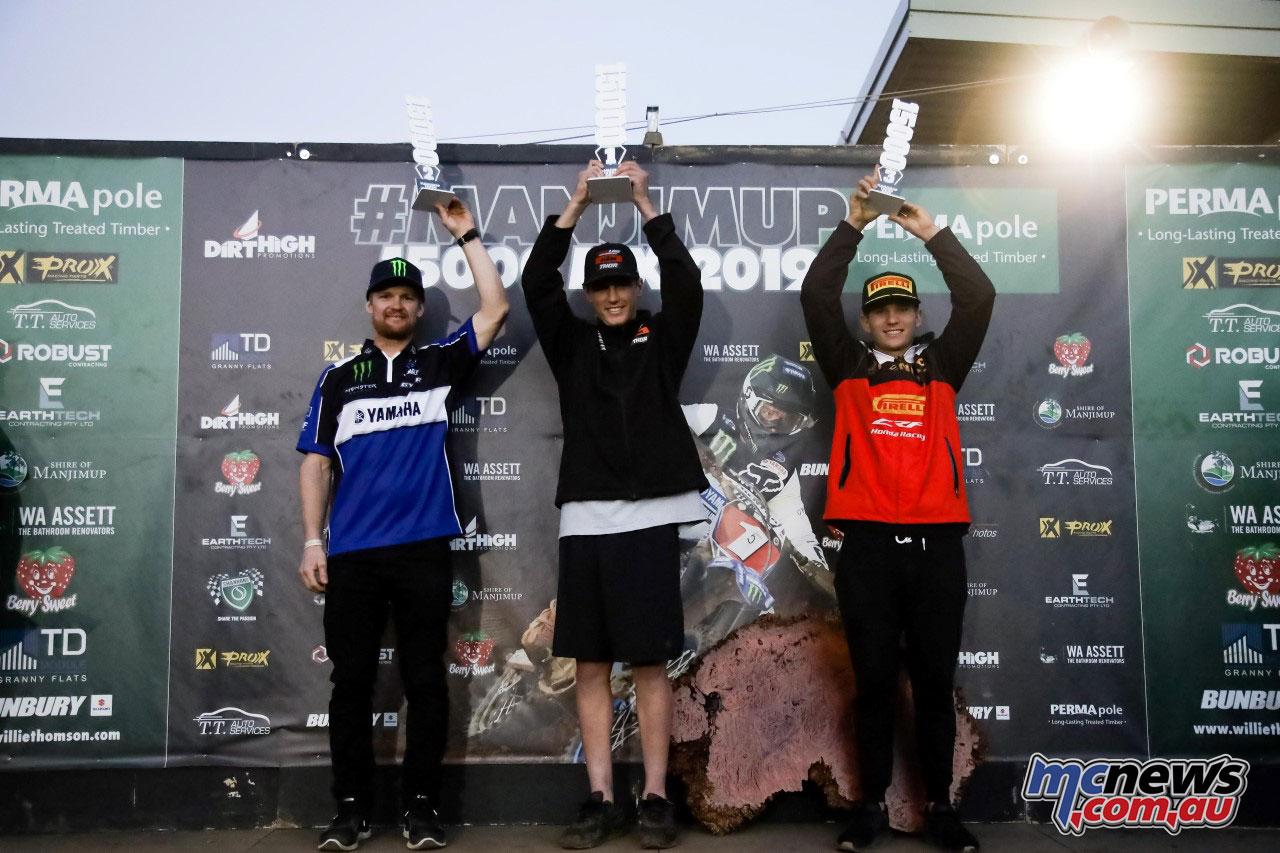 Manjimup podium