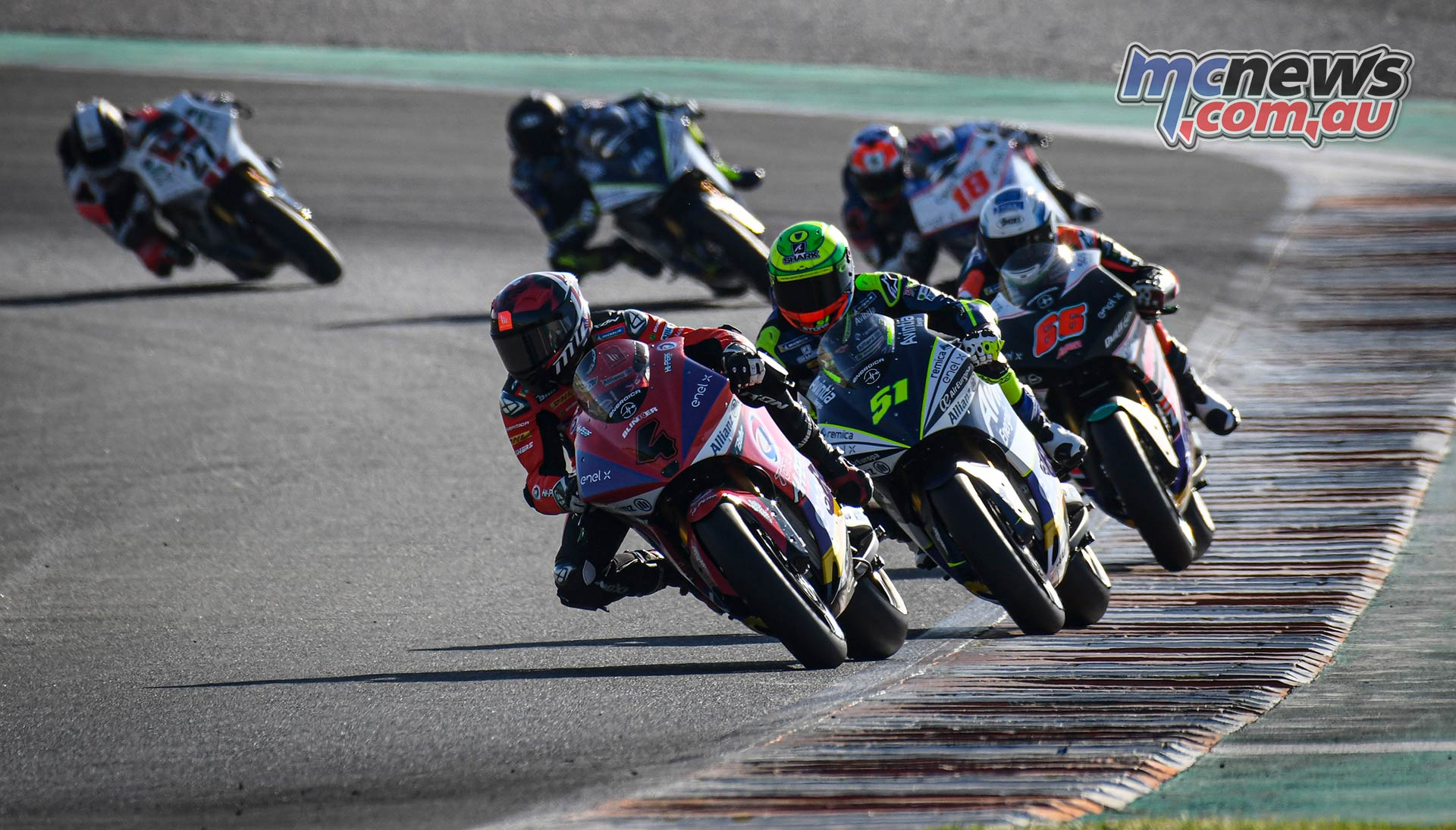 MotoE World Cup test Valencia Final Garzo leads Granado and Tuuli