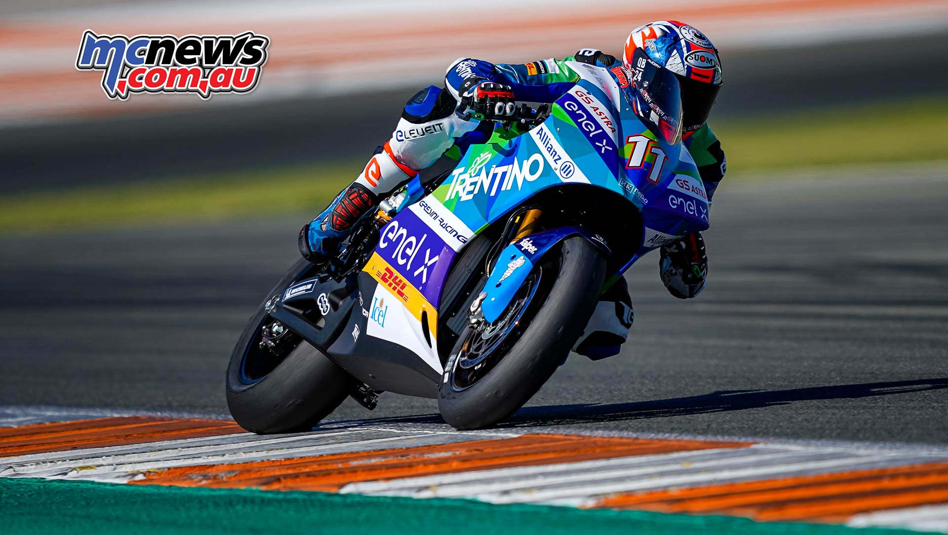 MotoE World Cup test Valencia Final Matteo Ferrari