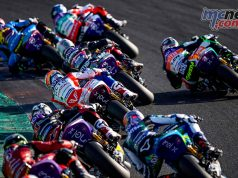 MotoE World Cup test Valencia Final Start