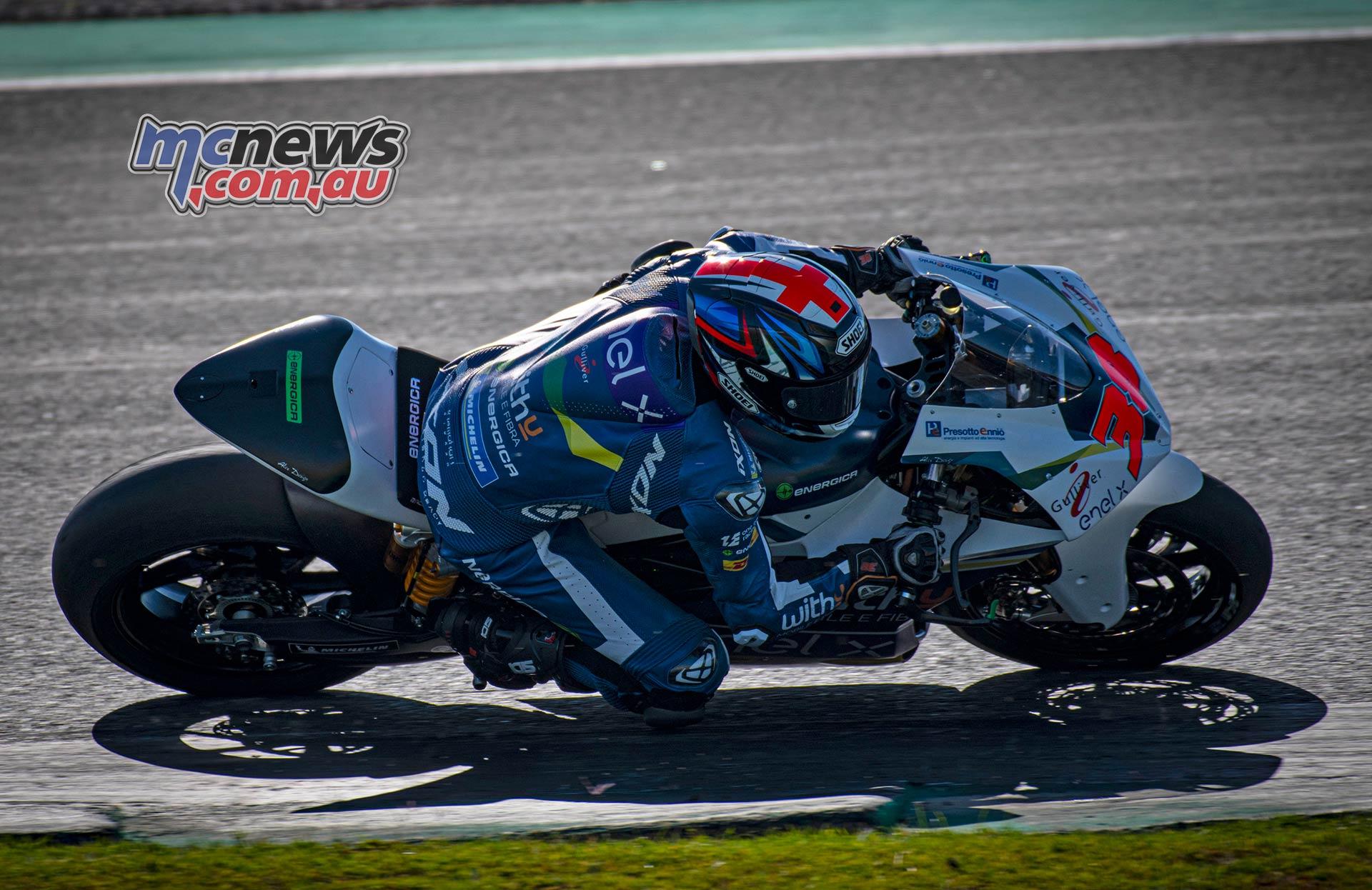 MotoE World Cup test Valencia Tues Bradley Smith