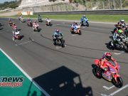MotoE World Cup test Valencia Tues MotoE Grid Test