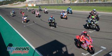MotoE World Cup test Valencia Tues MotoE Grid Test