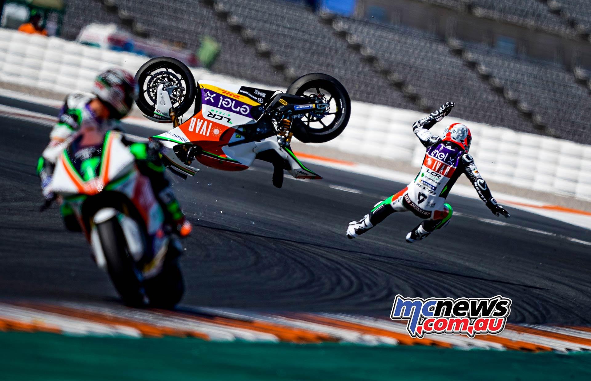 MotoE World Cup test Valencia Tues Randy De Puniet