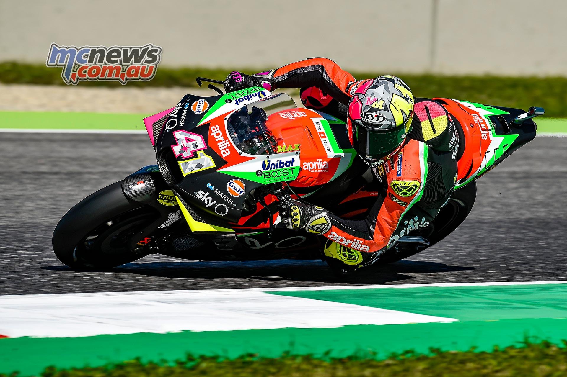 MotoGP Rnd Mugello QP Aleix Espargaro