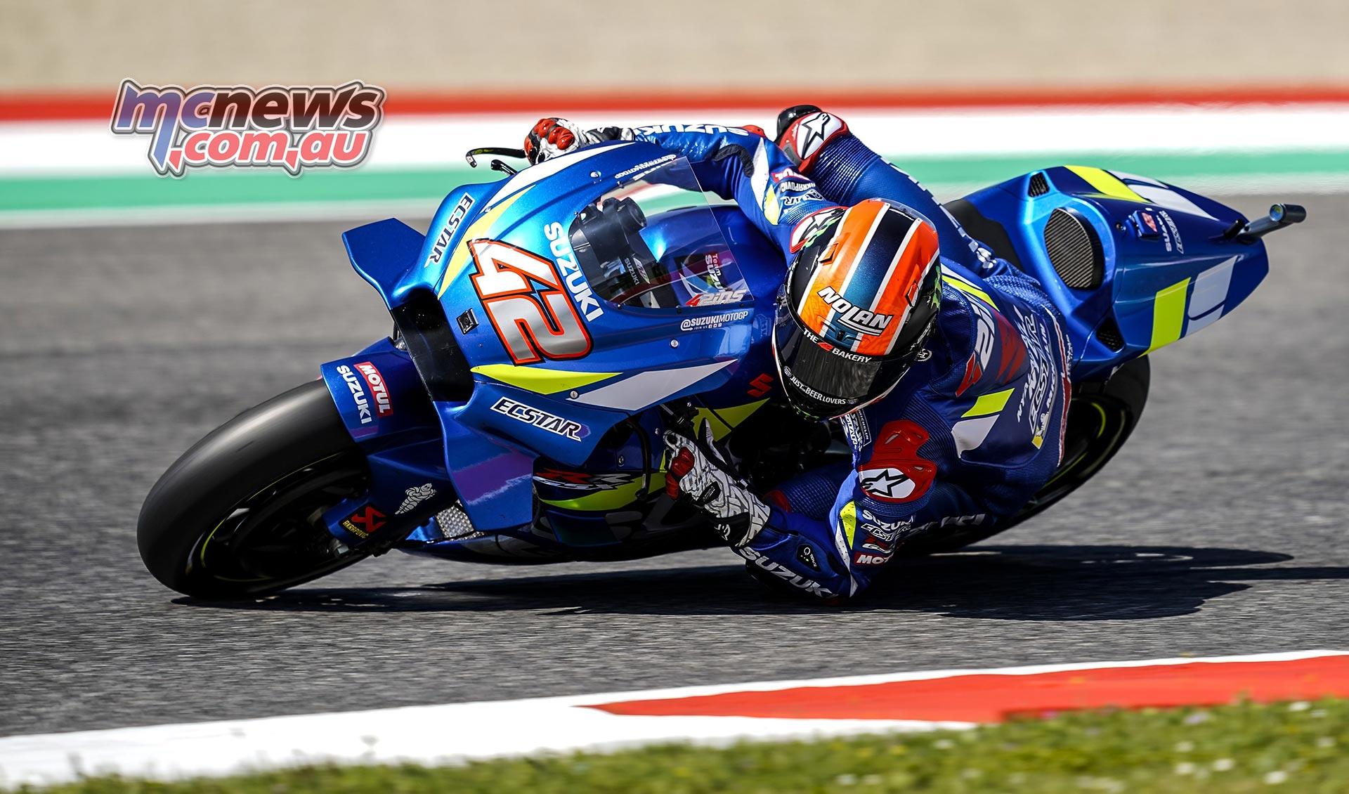 MotoGP Rnd Mugello QP Alex Rins