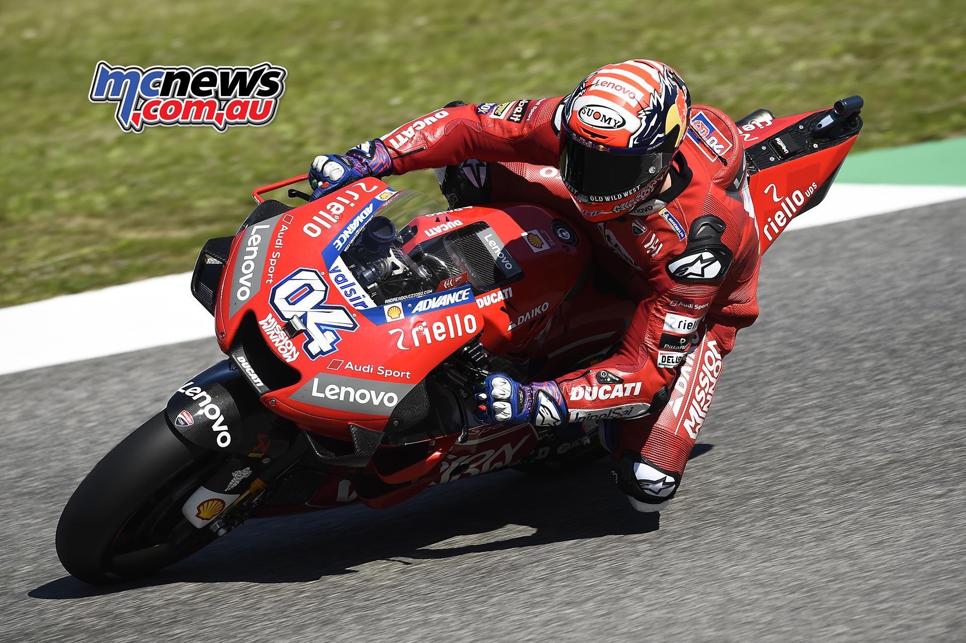 MotoGP Rnd Mugello QP Andrea Dovizioso