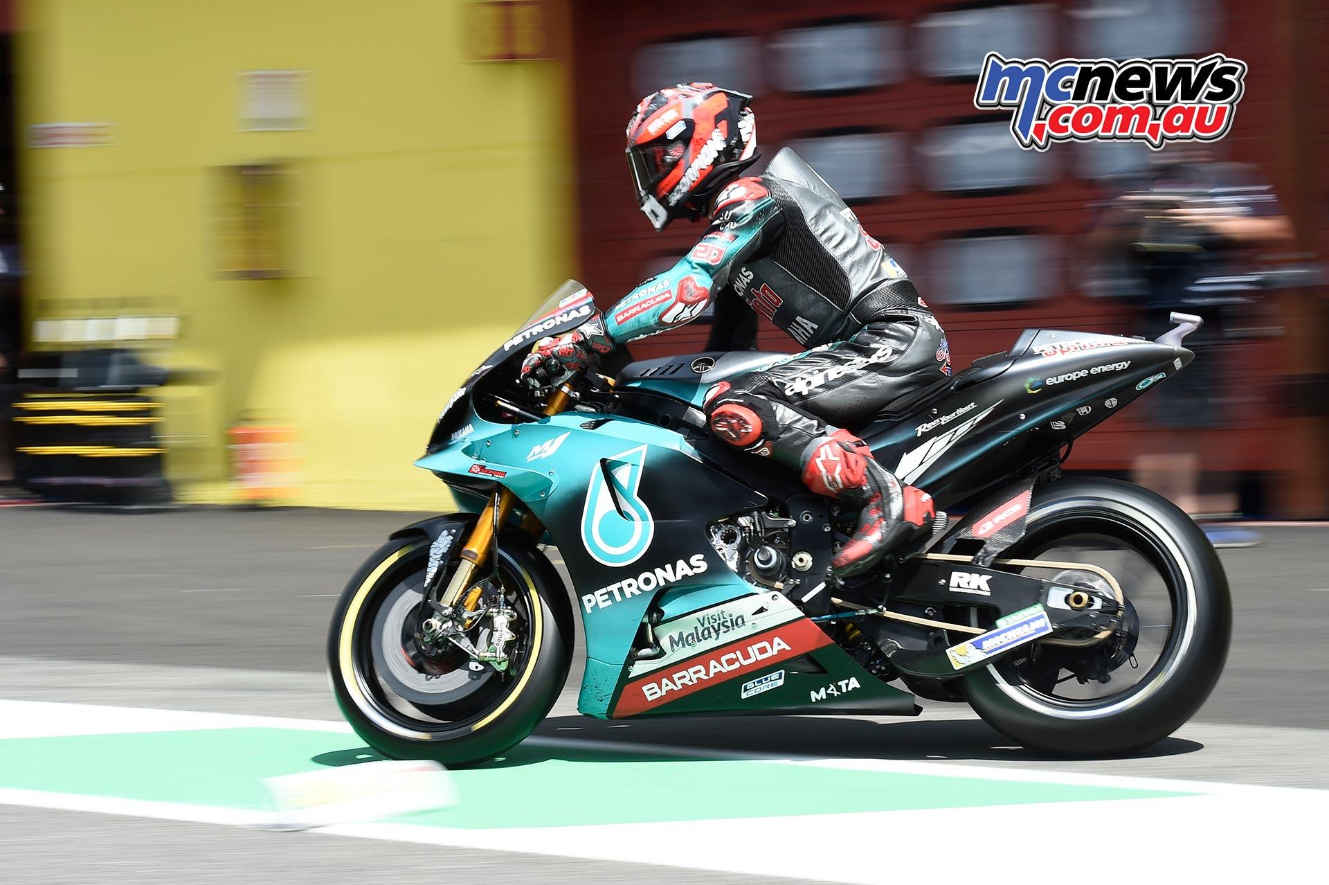 MotoGP Rnd Mugello QP Fabio Quartararo