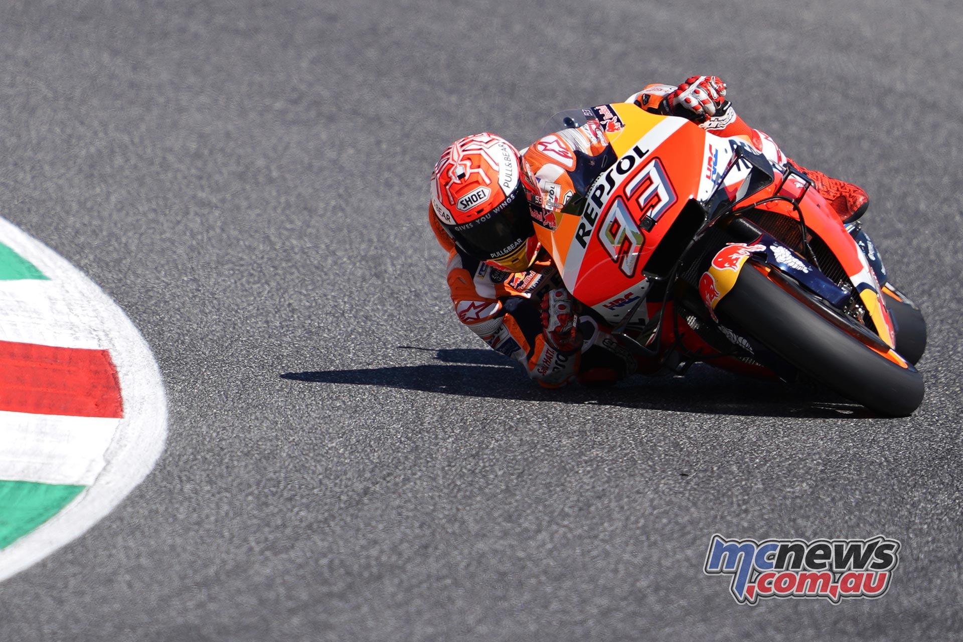 MotoGP Rnd Mugello QP Marquez