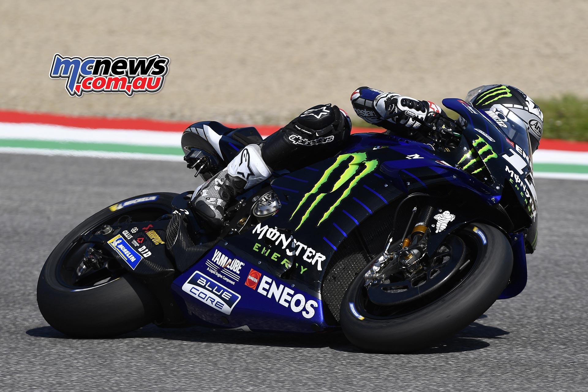 MotoGP Rnd Mugello QP Maverick Vinales
