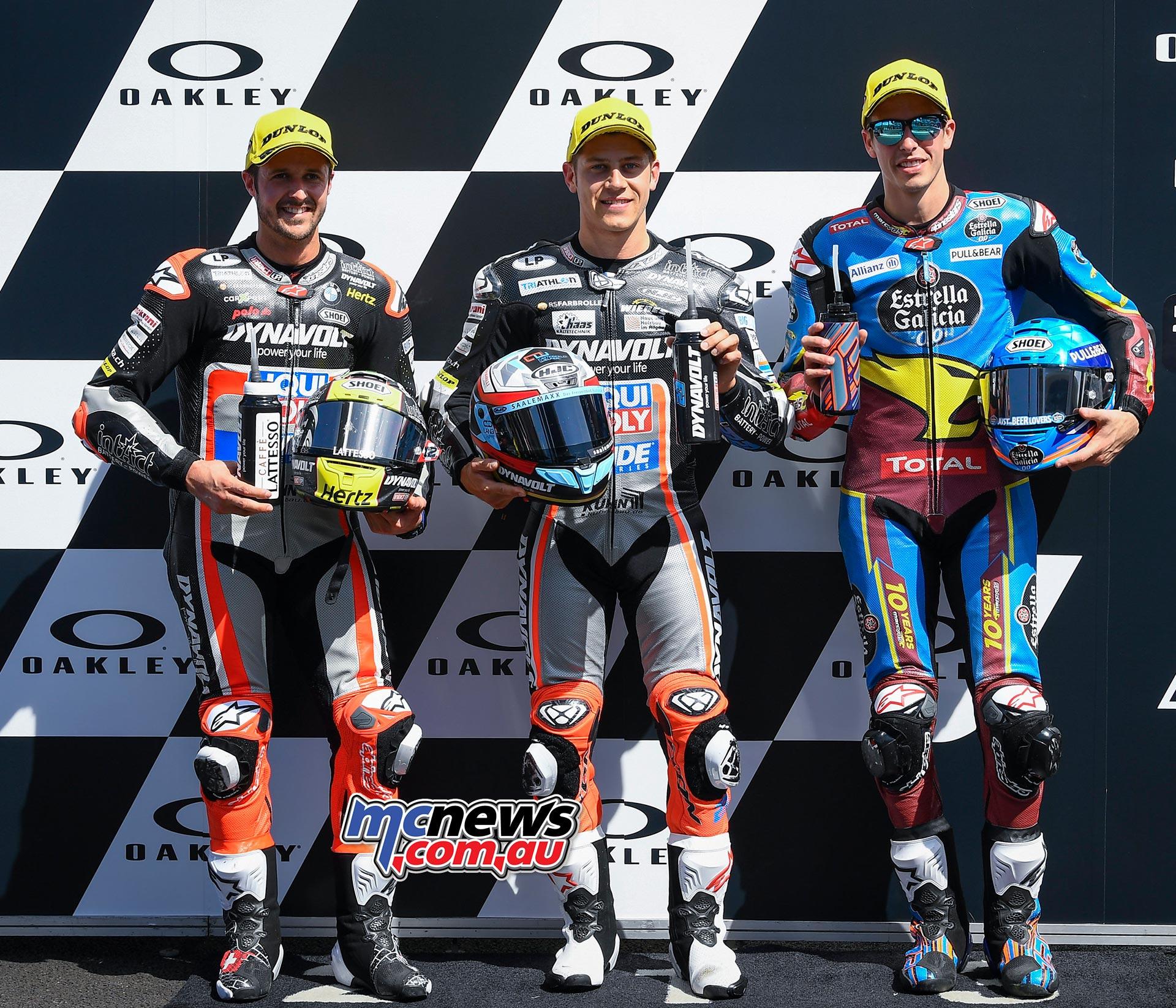 MotoGP Rnd Mugello QP Moto L R Lüthi Schrötter Marquez