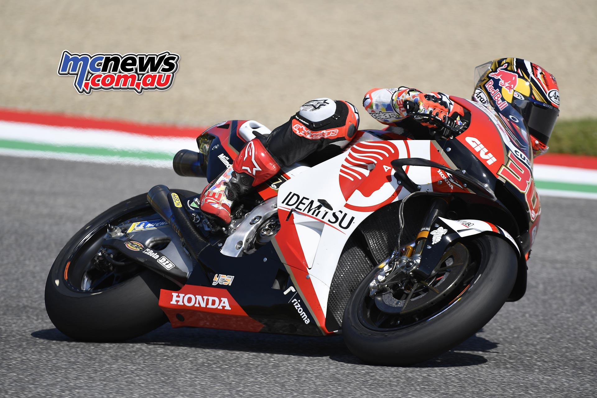 MotoGP Rnd Mugello QP Nakagami