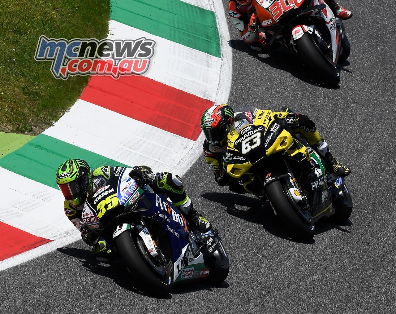 MotoGP Rnd Mugello Race Crutchlow Bagnaia