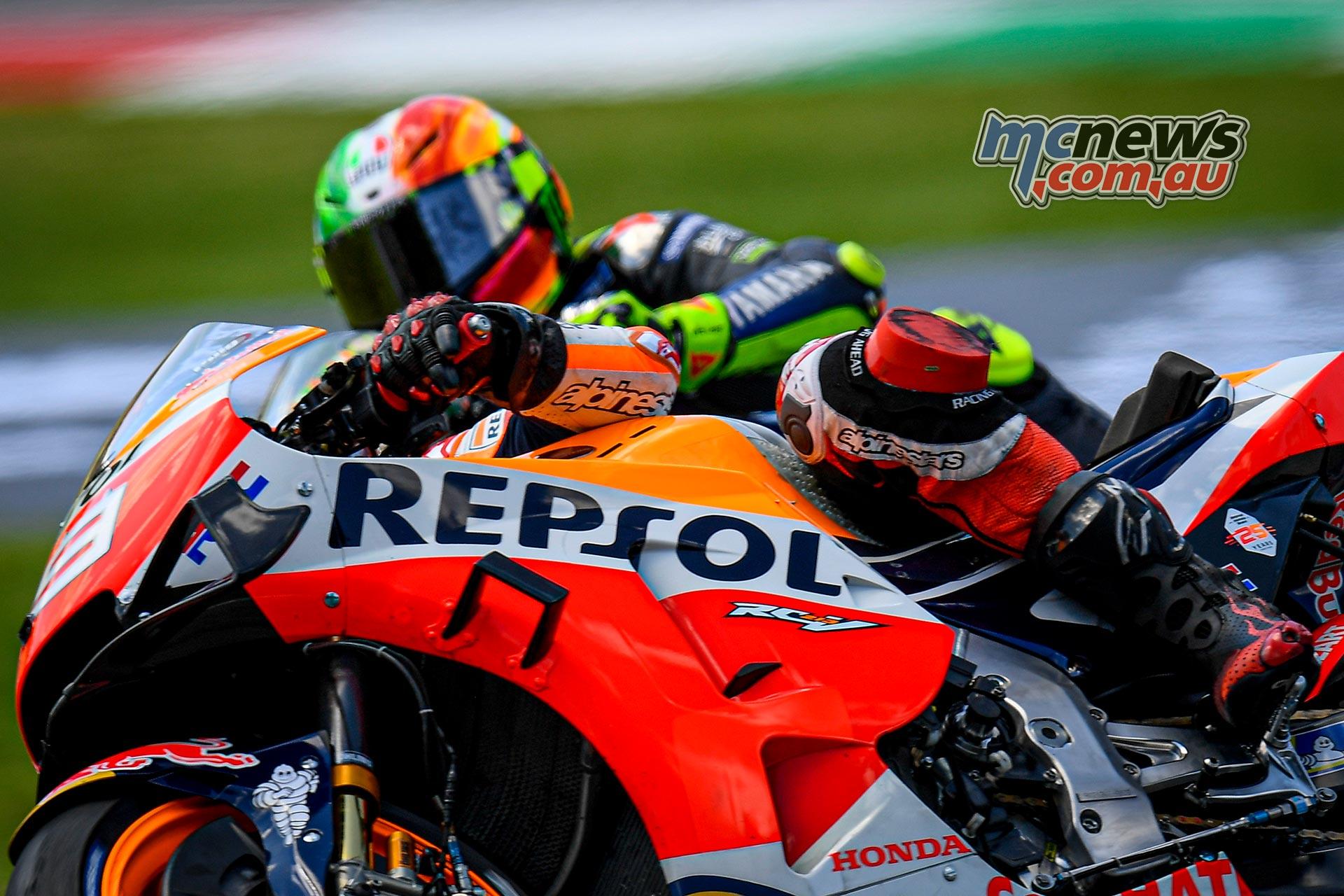 MotoGP Rnd Mugello Race Lorenzo Rossi