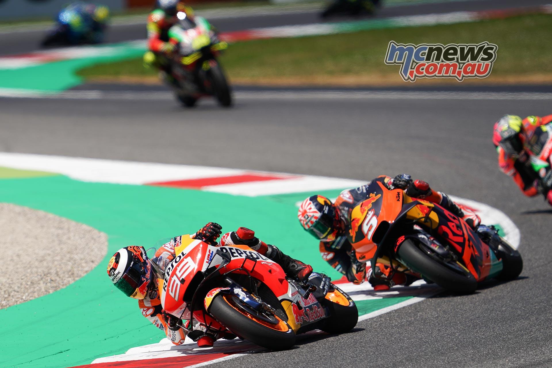 MotoGP Rnd Mugello Race Lorenzo Zarco