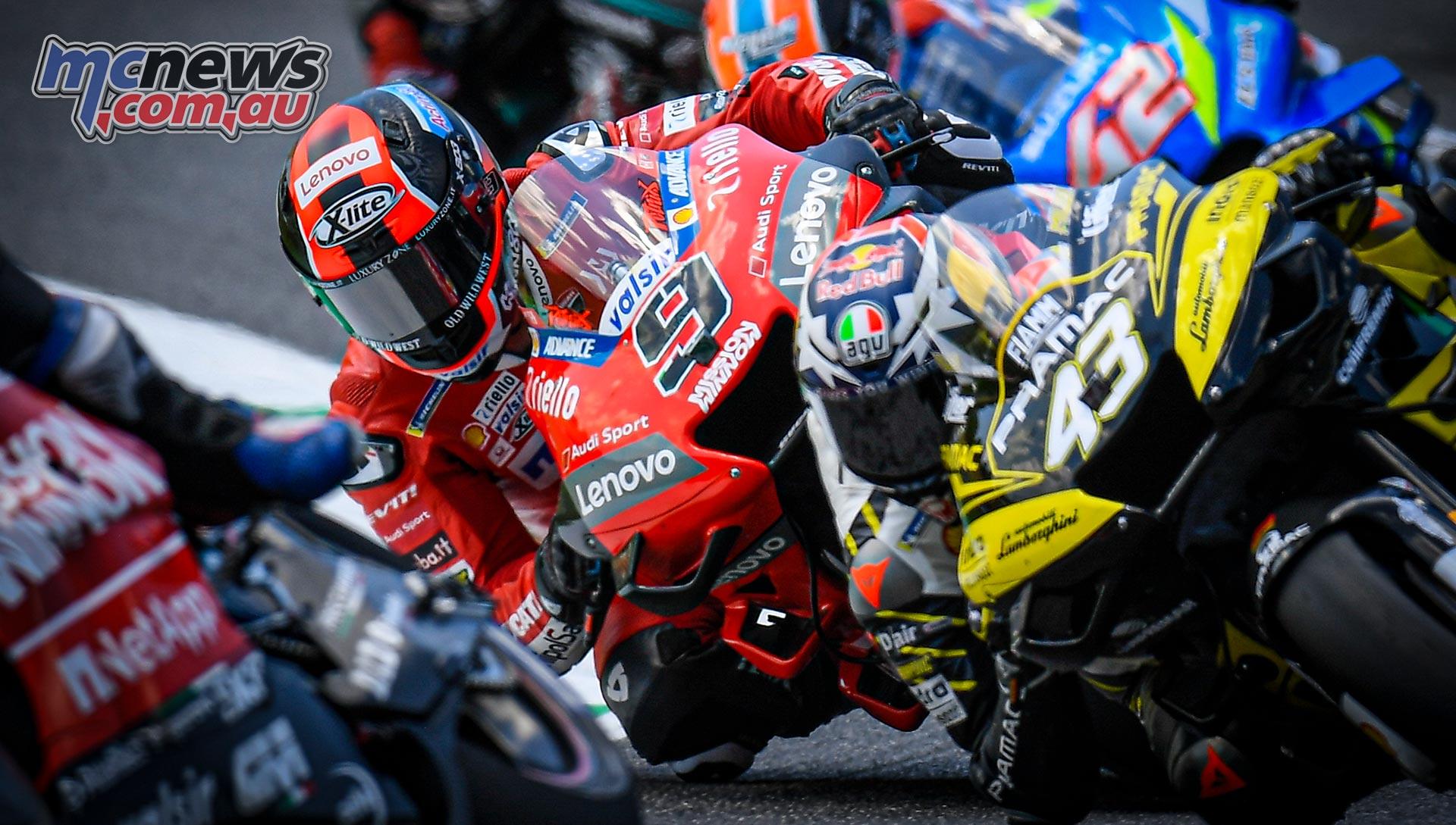 MotoGP Rnd Mugello Race Miller Petrucci Rins