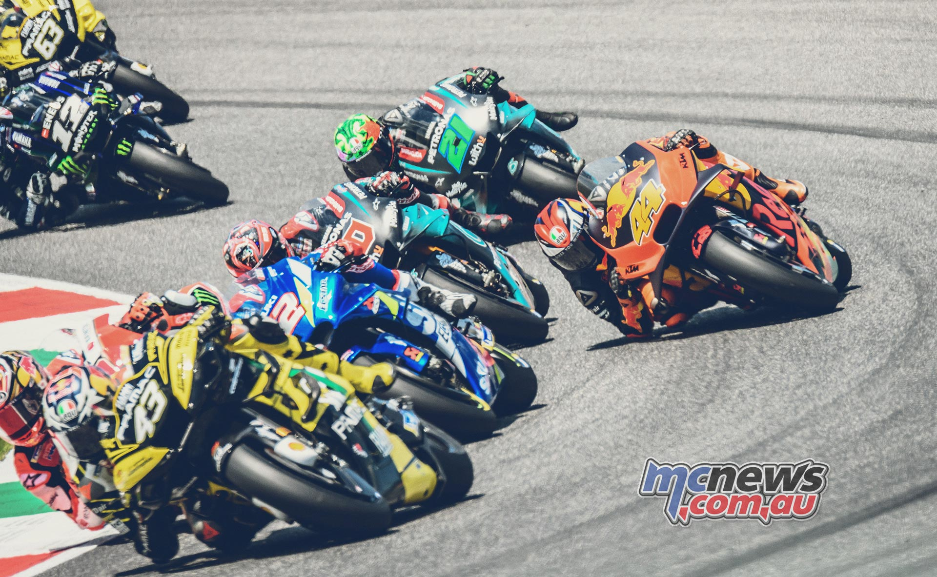 MotoGP Rnd Mugello Race Miller Rins Quarataro Pol Espargaro