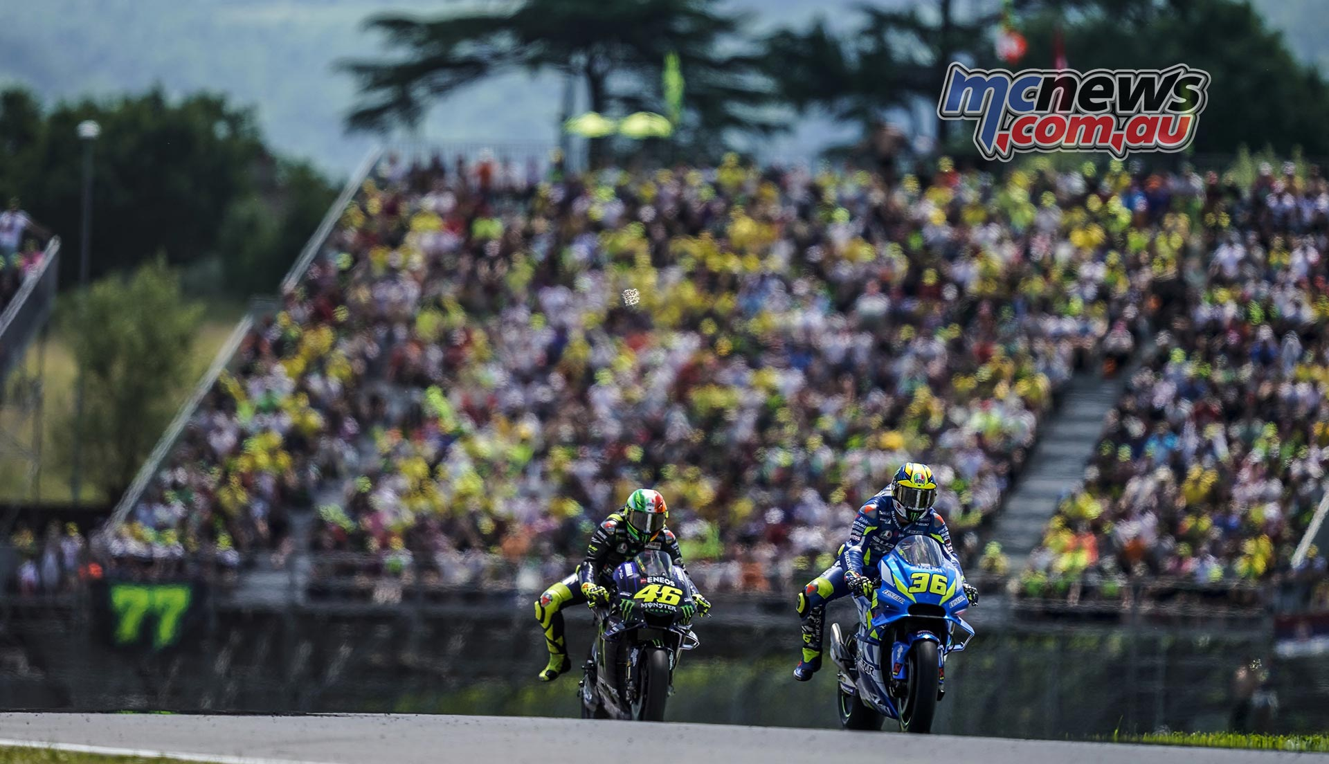 MotoGP Rnd Mugello Race Mir Rossi