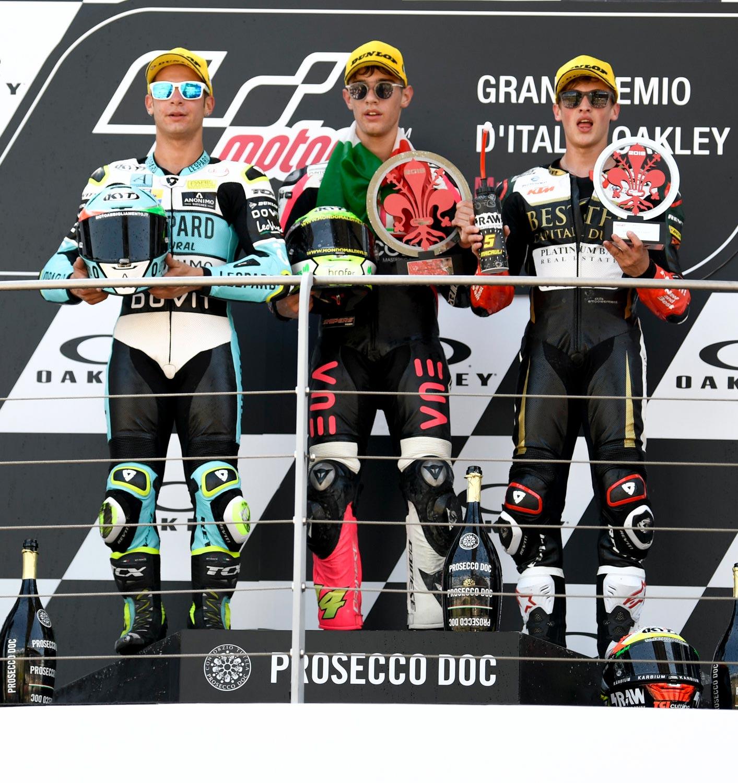 MotoGP Rnd Mugello Race Moto Dalla Porta Arbolino Masia