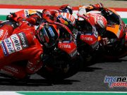 MotoGP Rnd Mugello Race Petrucci Dovizioso Marquez Close