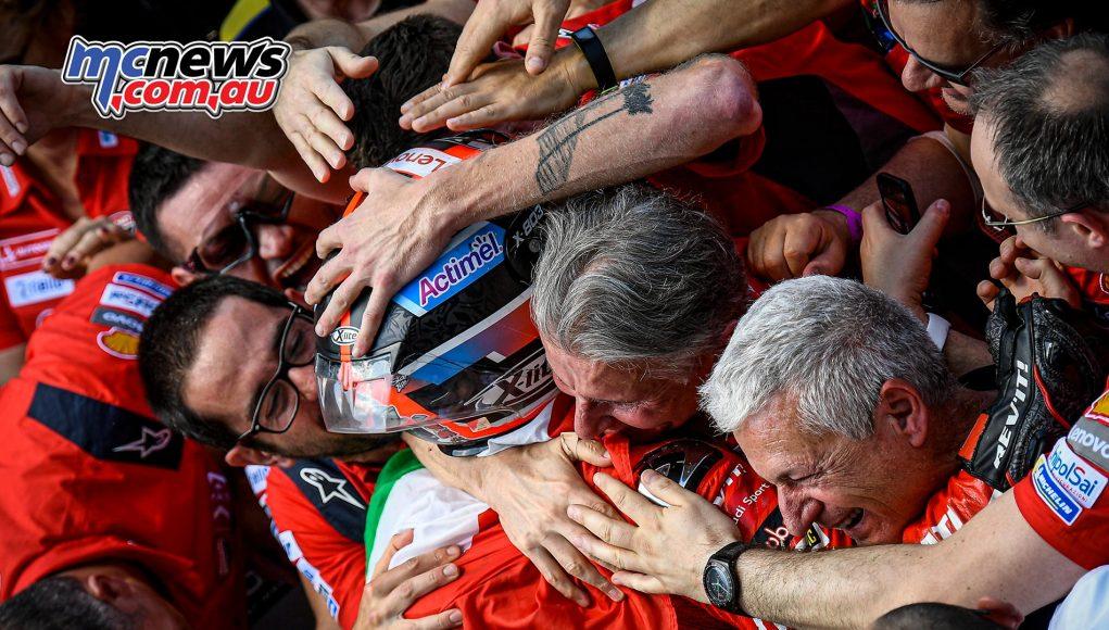MotoGP Rnd Mugello Race Petrucci Ducati Team Domenicali