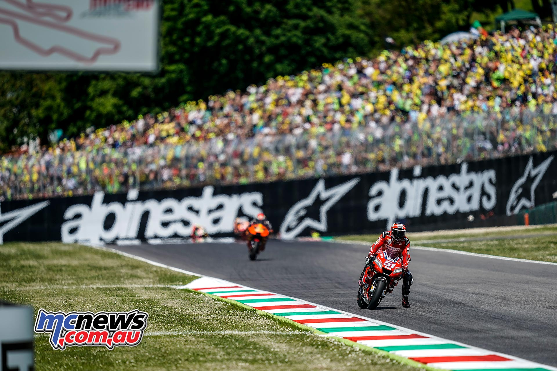MotoGP Rnd Mugello Race Pirro