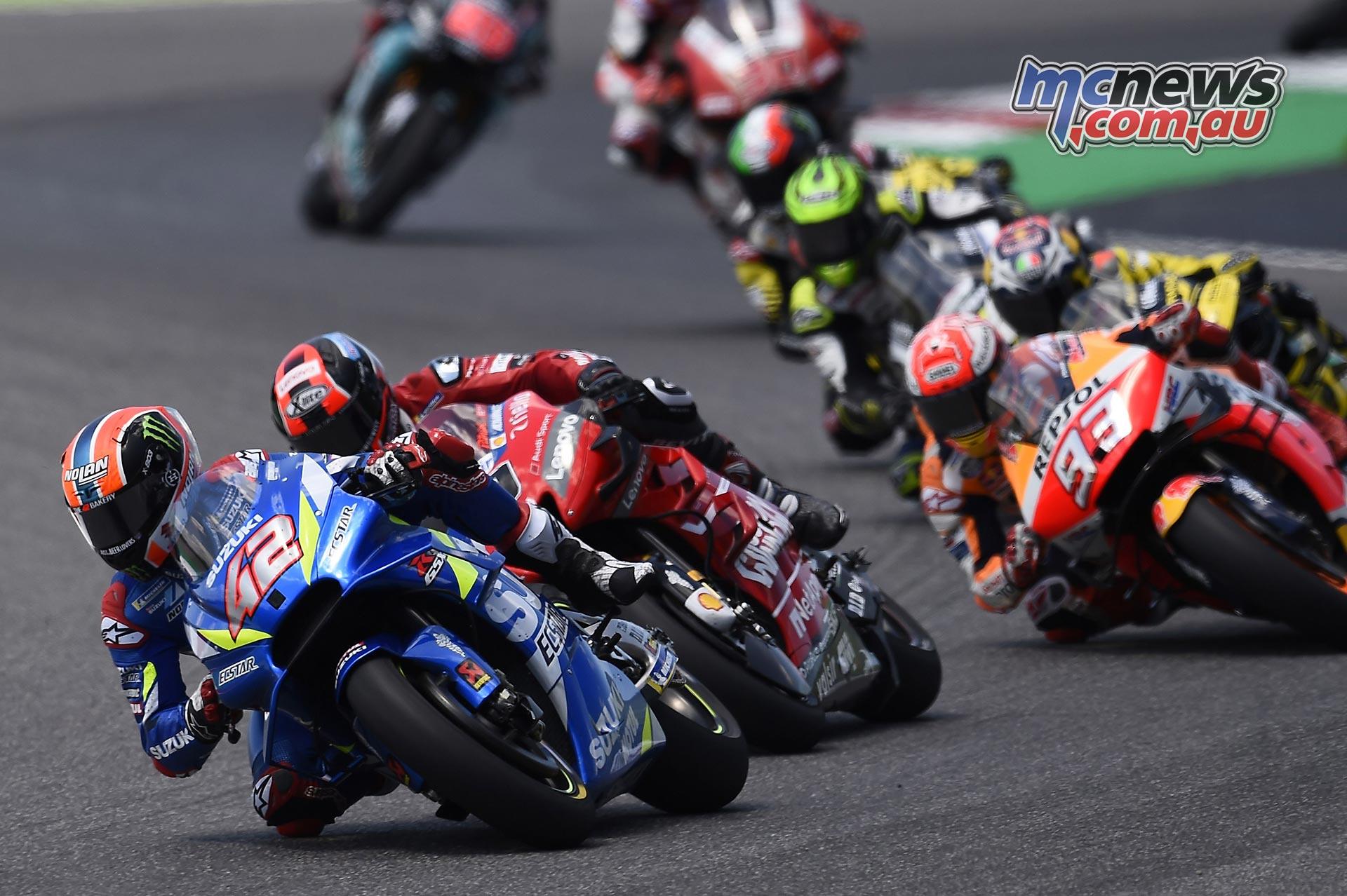 MotoGP Rnd Mugello Race Rins Petrucci