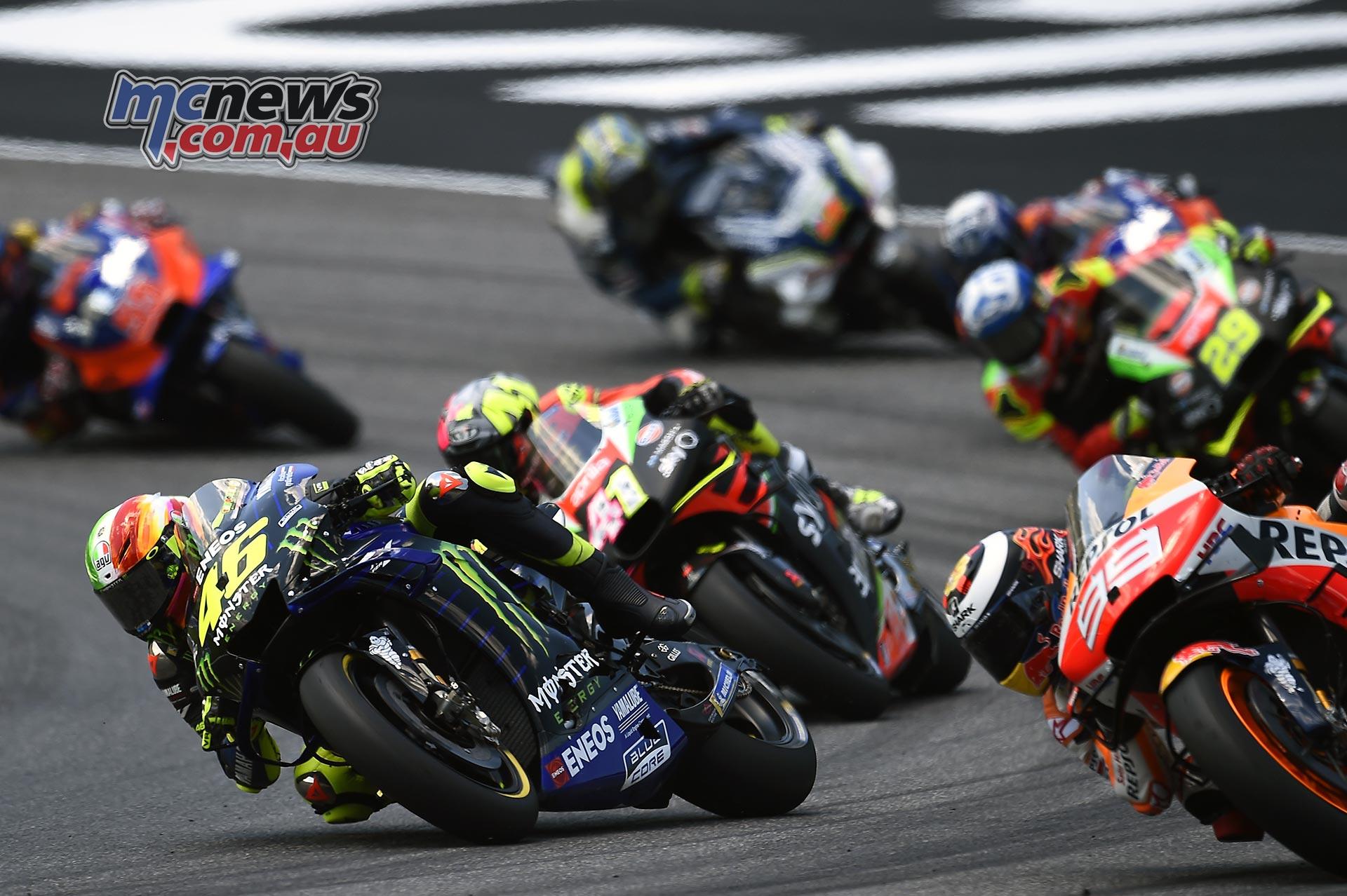 MotoGP Rnd Mugello Race Rossi Lorenzo Espargaro