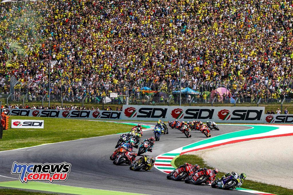 MotoGP Rnd Mugello Race Start Crutchlow