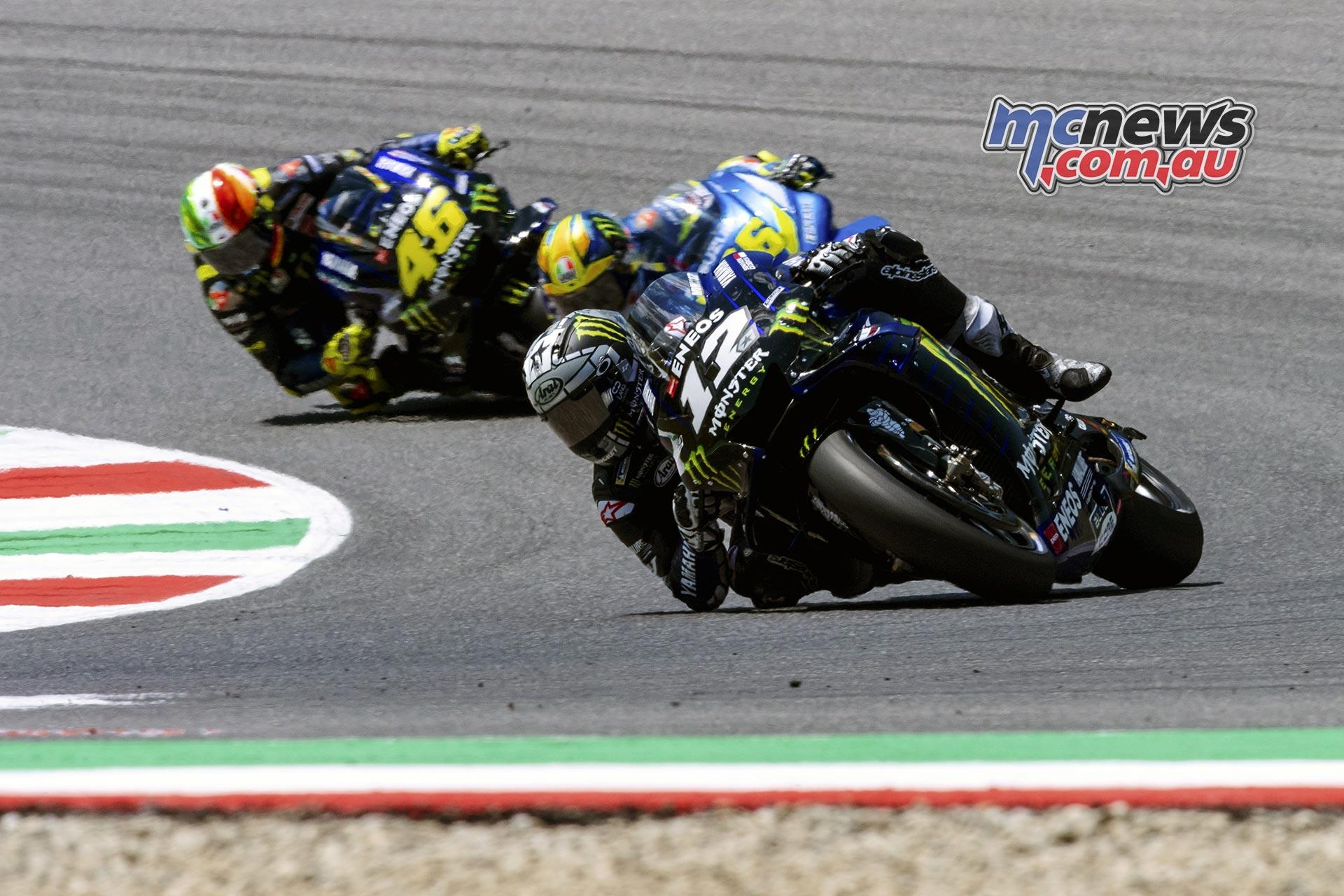 MotoGP Rnd Mugello Race Vinales Mir Rossi