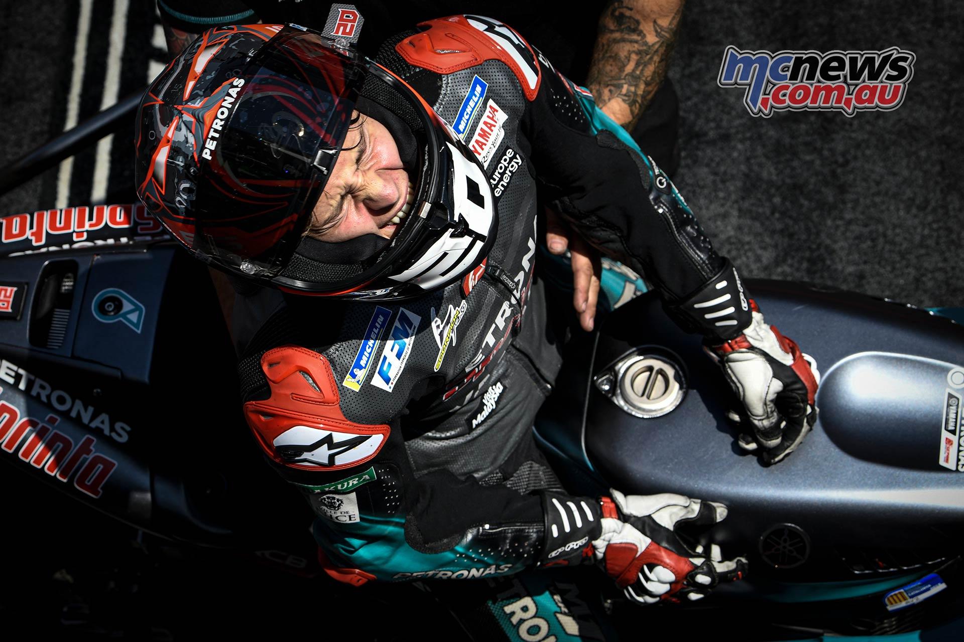 MotoGP Rnd Catalunya Fabio Quartararo ParcFerme