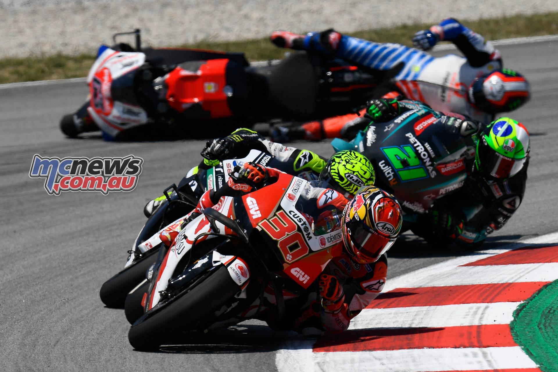 MotoGP Rnd Catalunya Nakagami Morbidelli Bagnaia