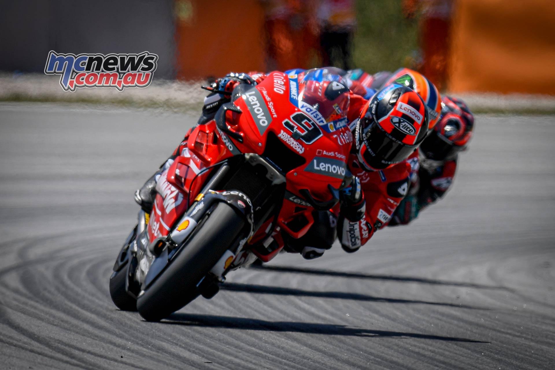 MotoGP Rnd Catalunya Petrucci Rins Quartararo
