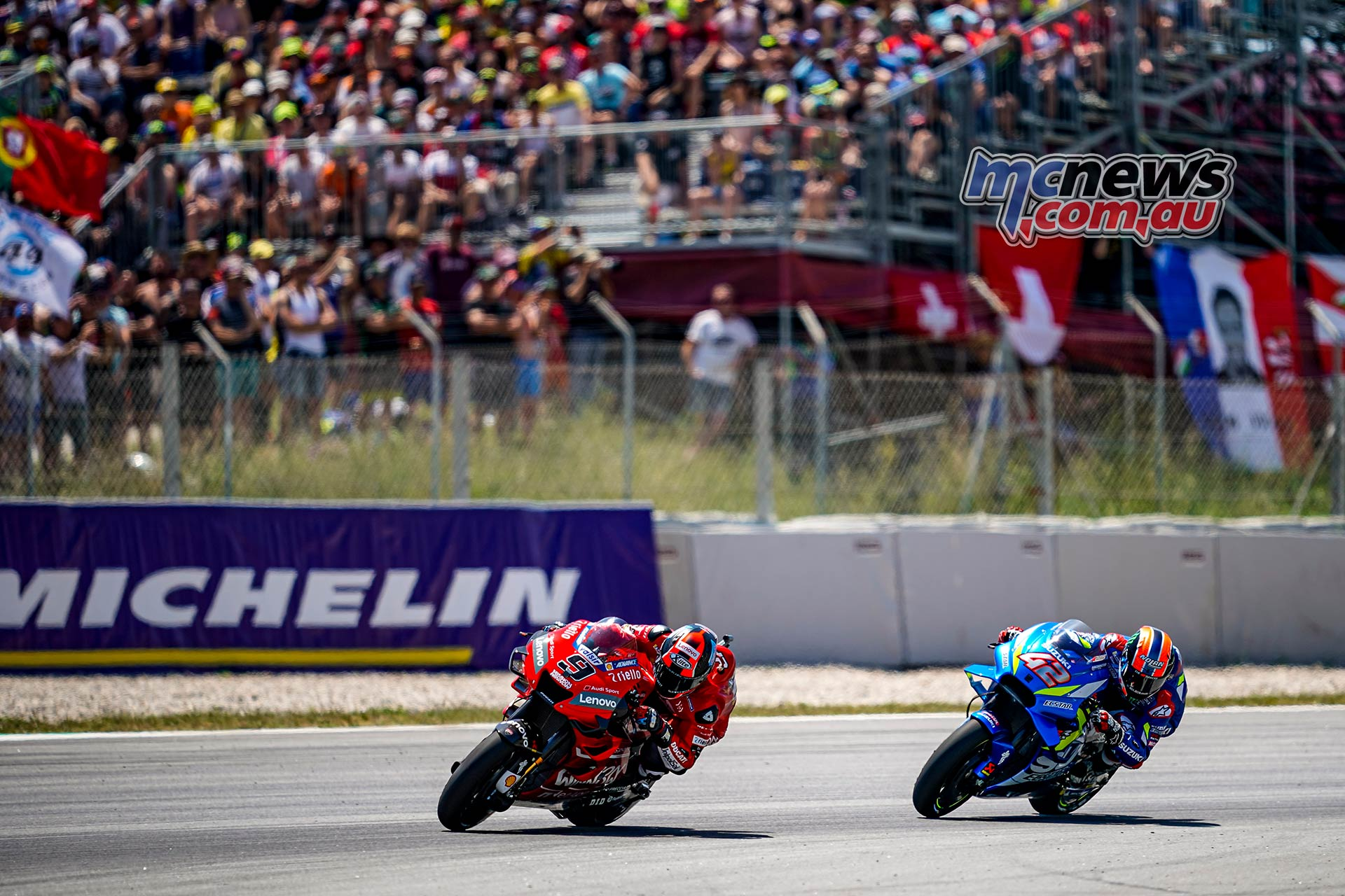 MotoGP Rnd Catalunya Petrucci Rins