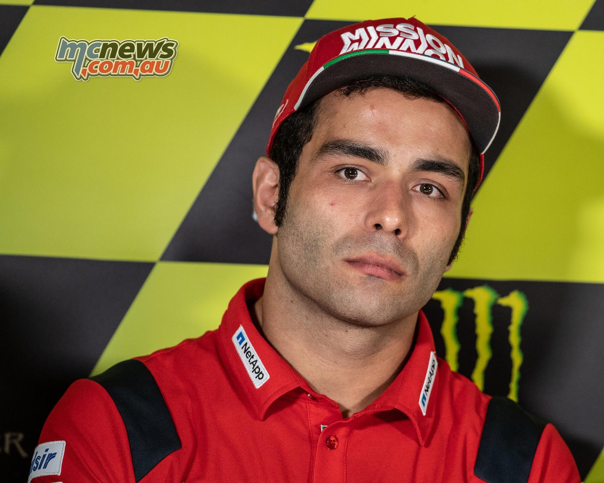 MotoGP Rnd Catalunya Presser Petrucci