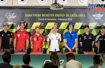 MotoGP Rnd Catalunya Presser Riders
