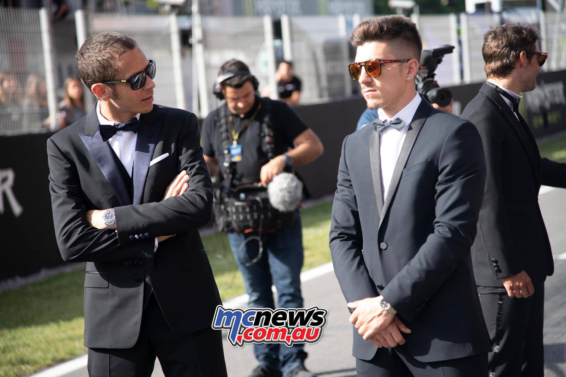 MotoGP Rnd Catalunya Presser Rossi Vinales
