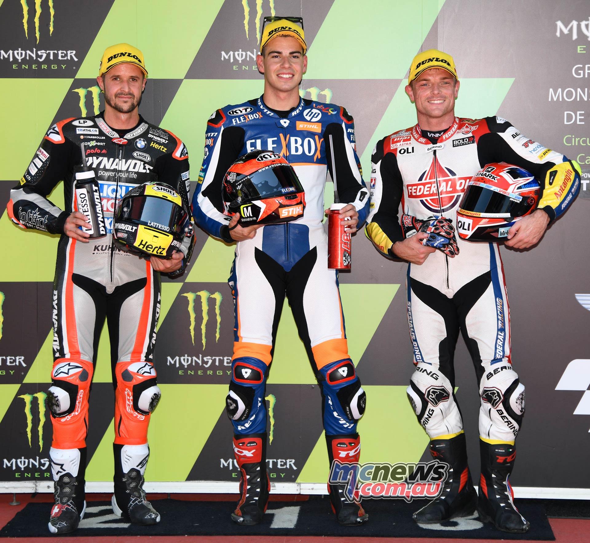 MotoGP Rnd Catalunya QP Fernandez Pole Luthi Lowes
