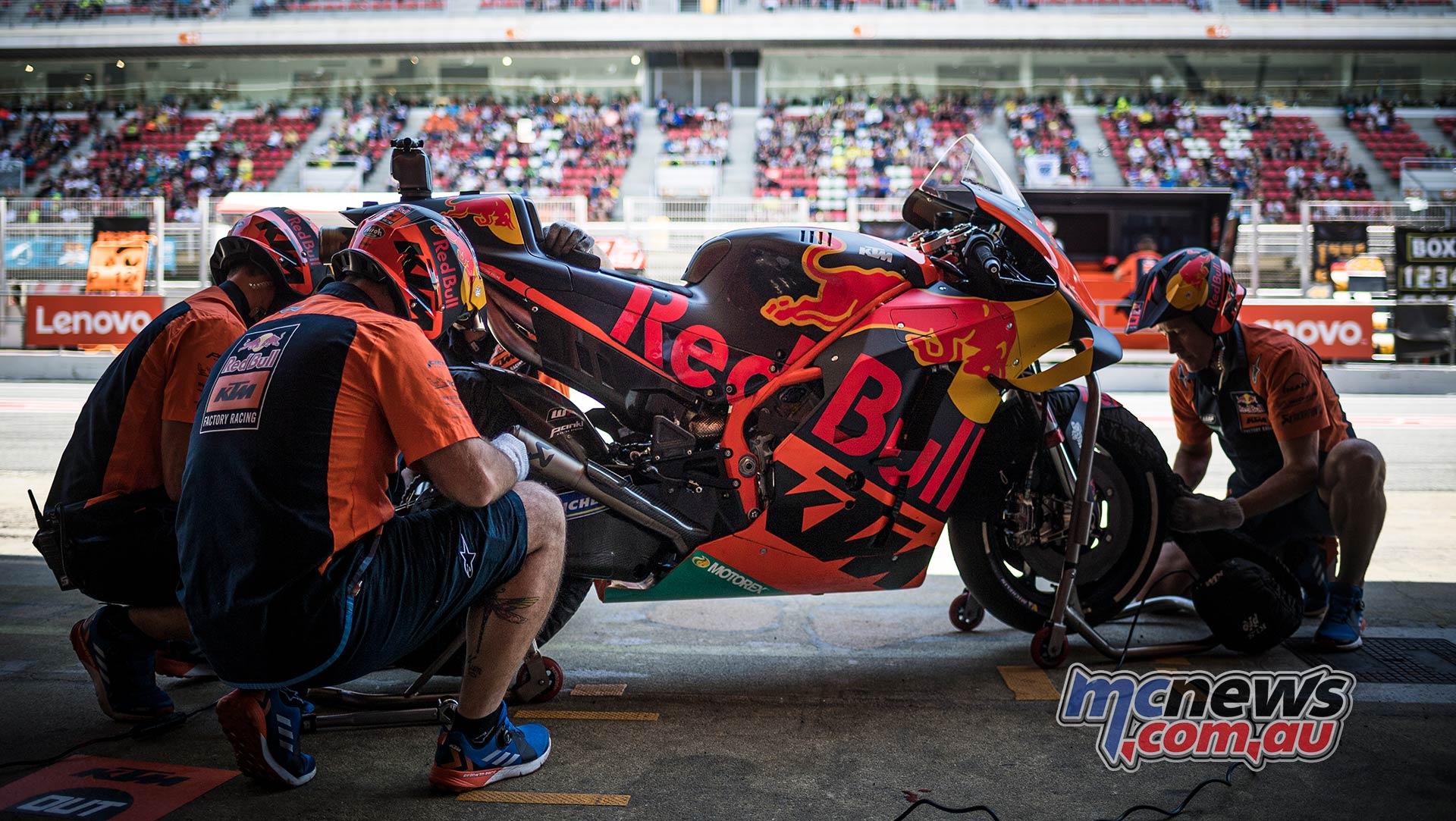 MotoGP Rnd Catalunya QP KTM RC
