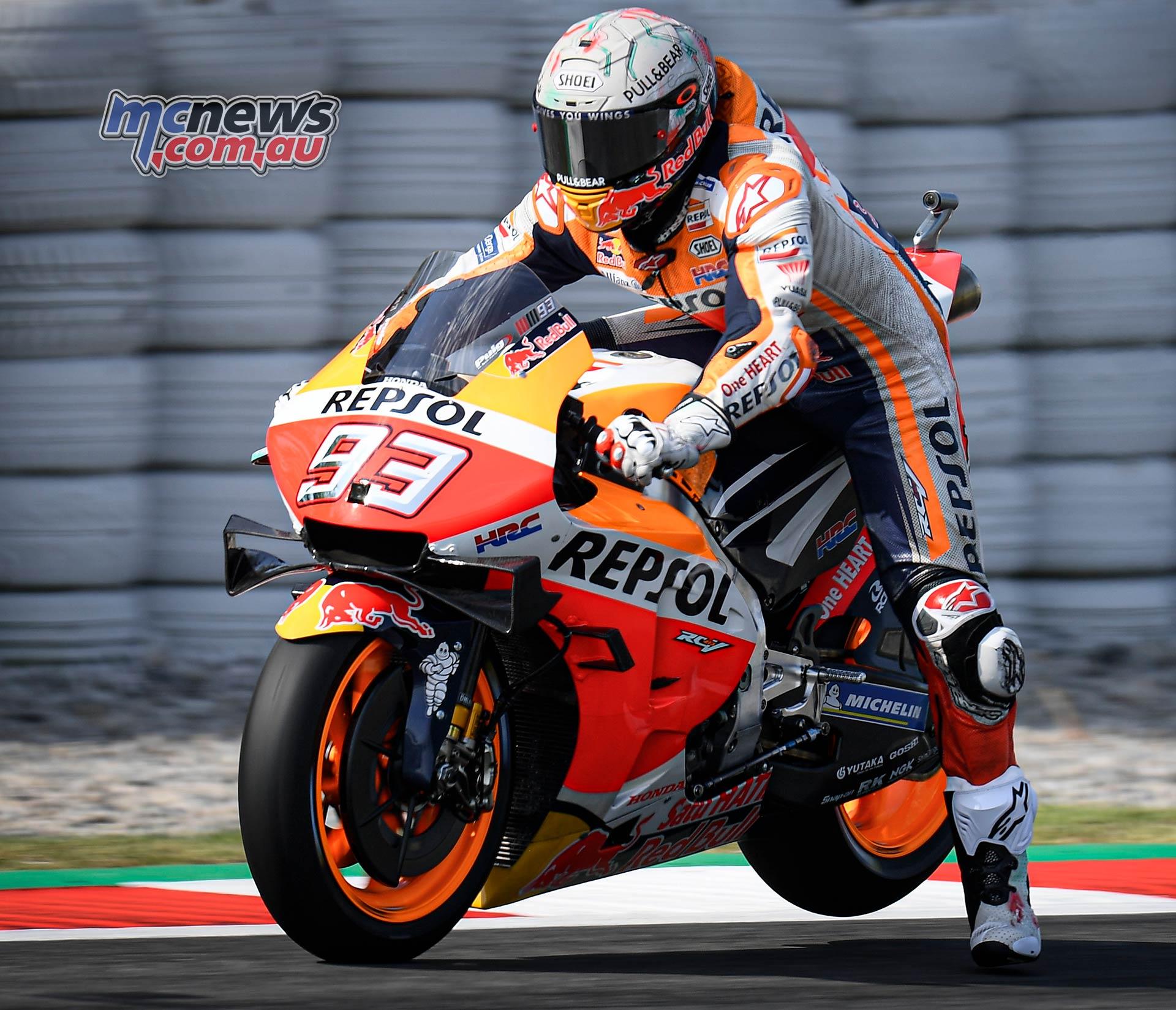 MotoGP Rnd Catalunya QP Marquez