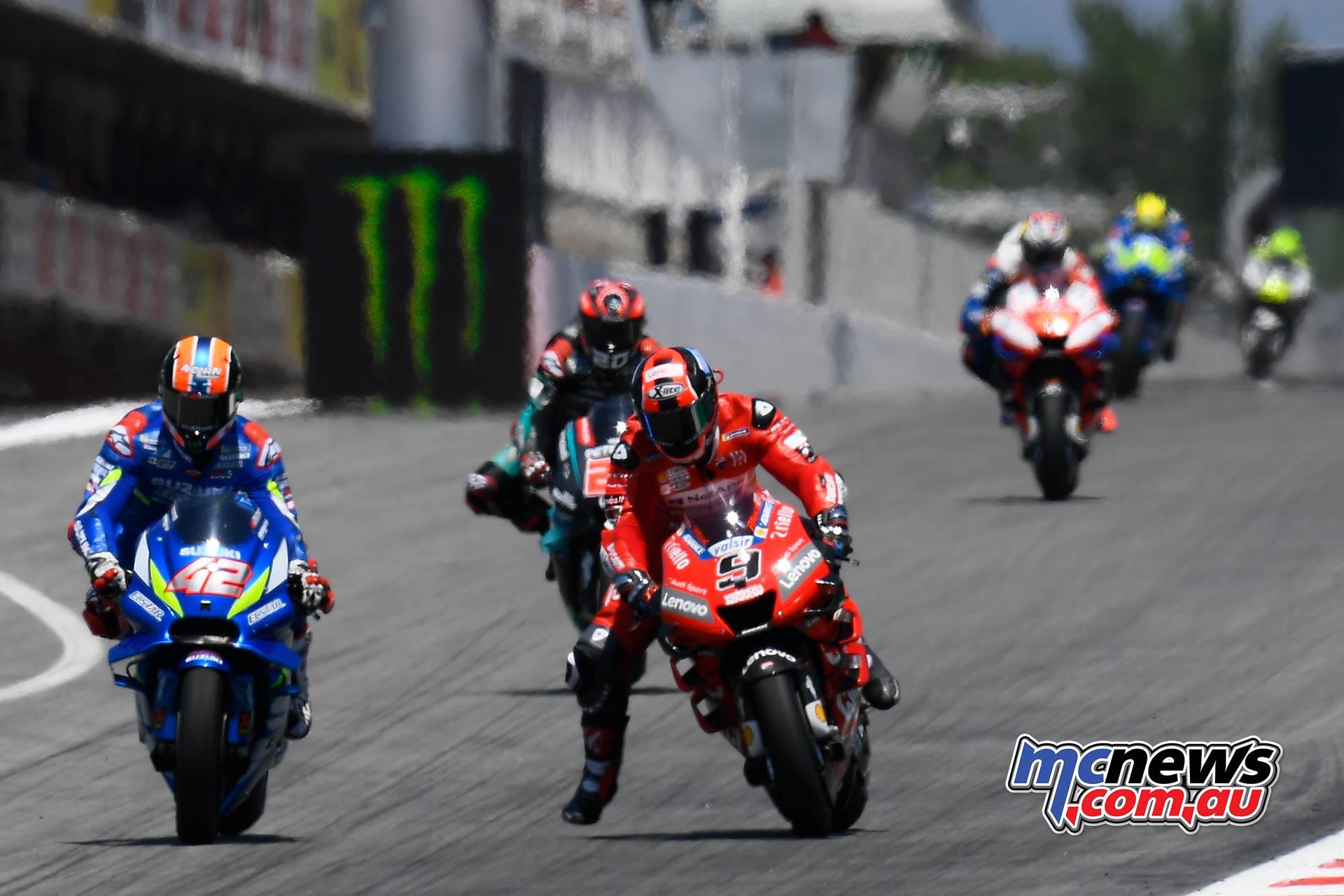 MotoGP Rnd Catalunya Rins Petrucci Quartararo Miller