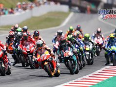 MotoGP Rnd Catalunya Start Dovi Marquez