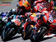 MotoGP Rnd Catalunya Start Dovizioso Marquez