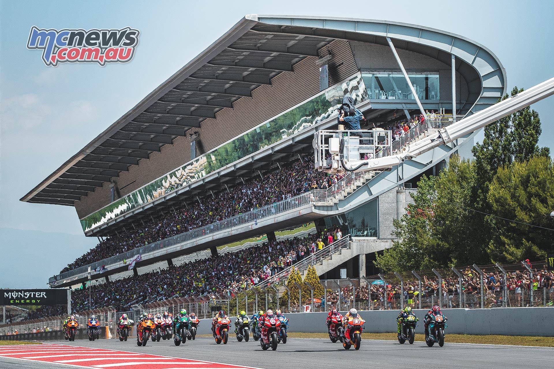 MotoGP Rnd Catalunya Start