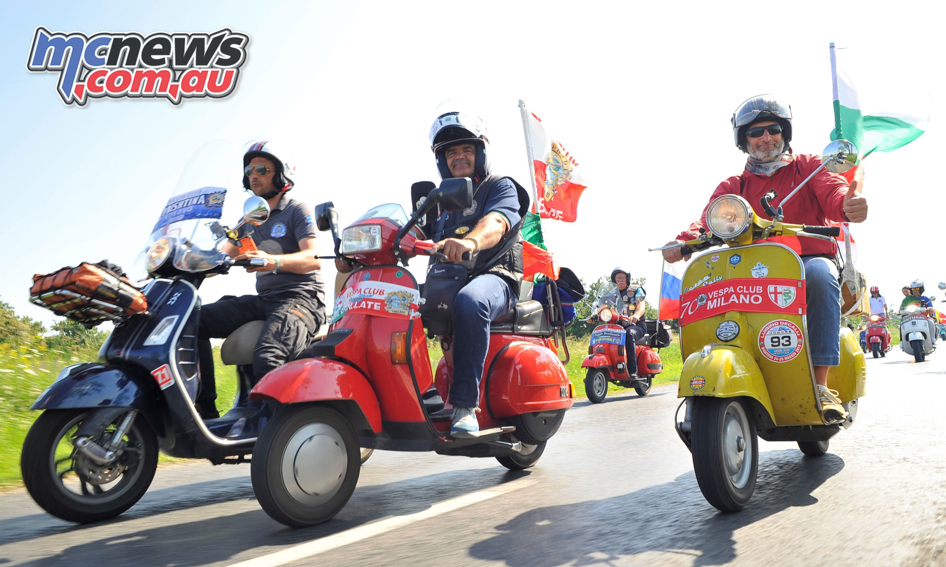 Vespa World Days Zanka Hungary