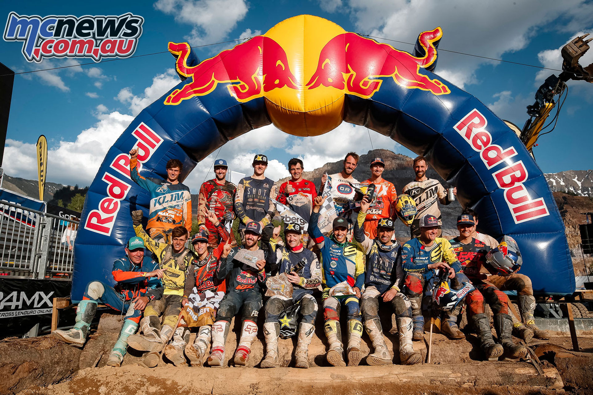 WESS Erzbergrodeo Hare Scramble Rnd riders finished this years race