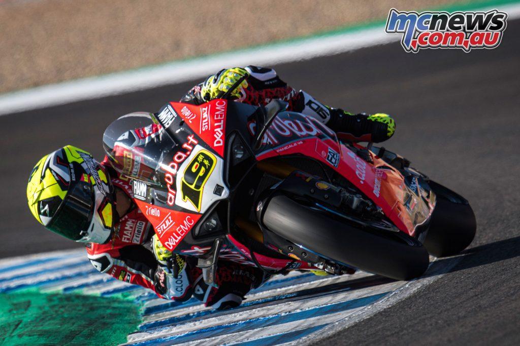 WSBK Rnd Jerez Sat Alvaro Bautista