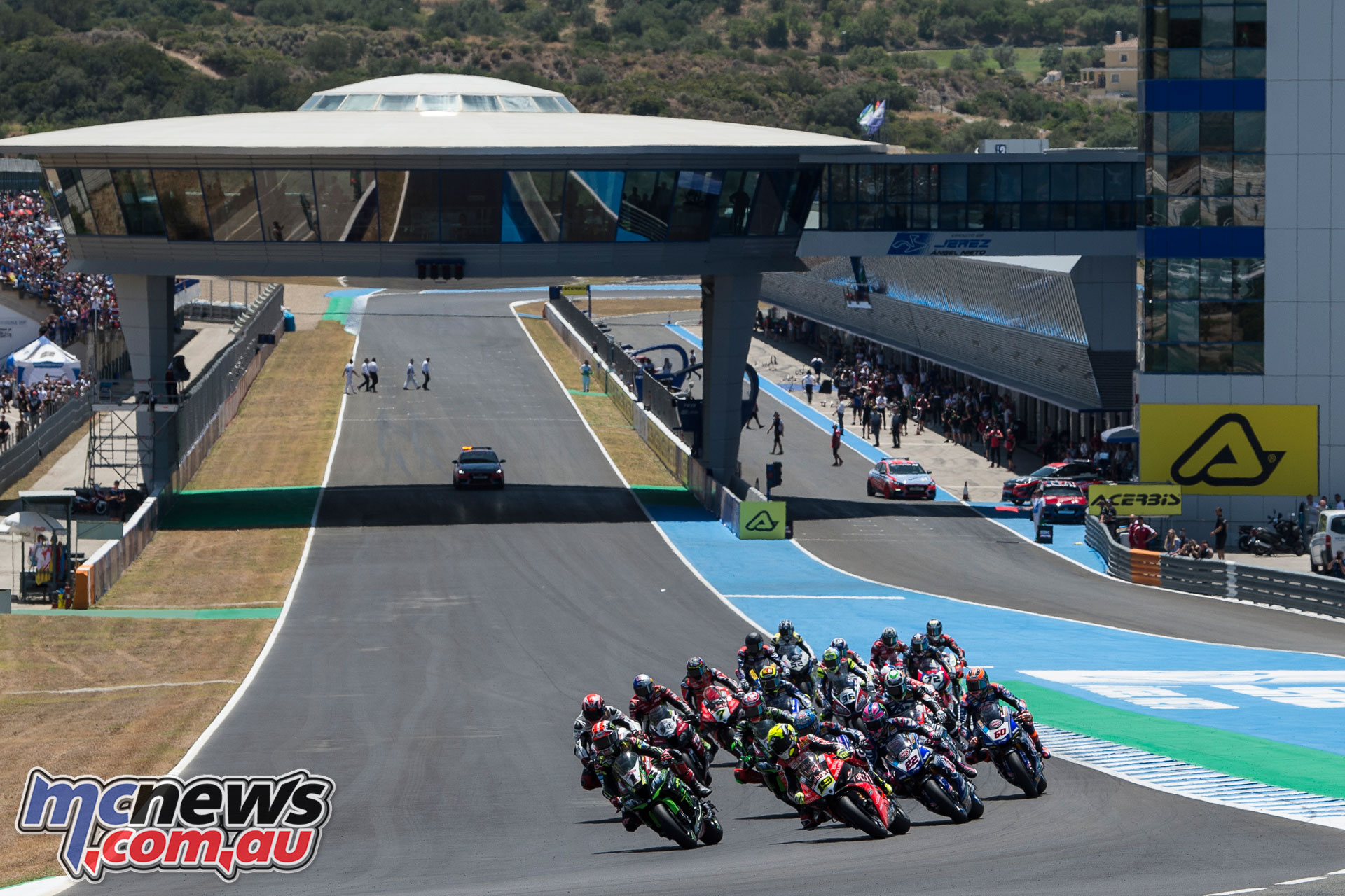 WSBK Rnd Jerez Sat Rea GB