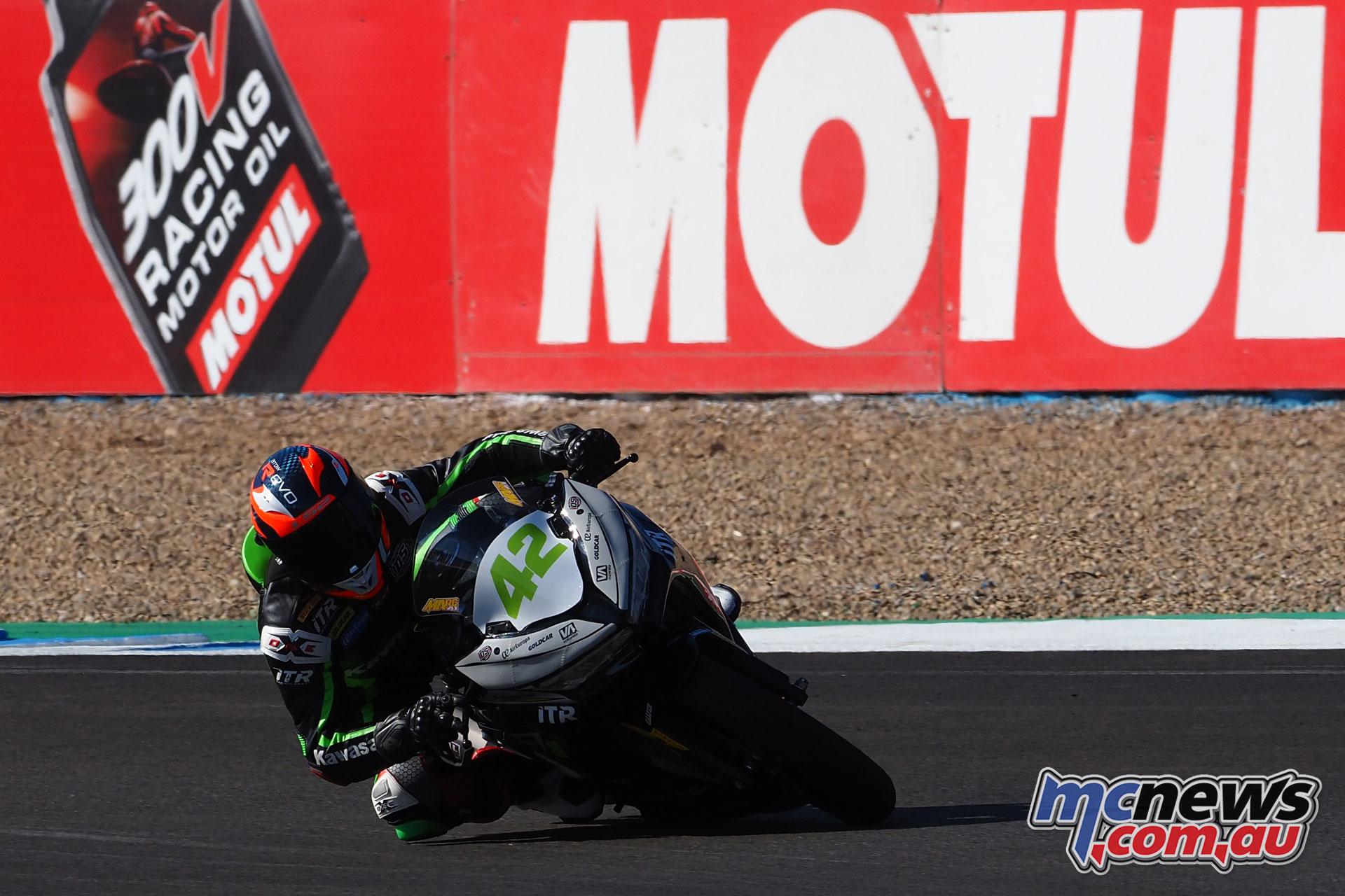 WSBK Rnd Jerez Sat WSSP Marc Garcia